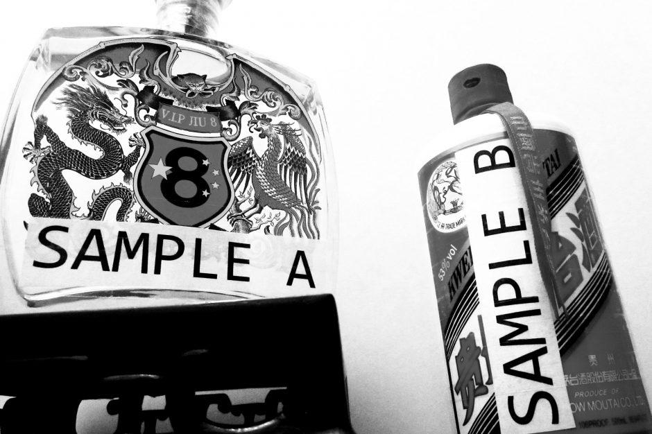 Sample A - V.I.P Jiu 8 And Sample B - Kweichow Moutai.