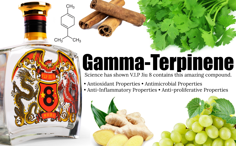 Chinese Baijiu Health Benefits? V.I.P Jiu 8 And Gamma-Terpinene